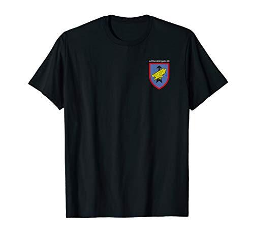 Herren Fallschirmjäger T-Shirt Airborne Parachute LLBrig 26 - Airborne Herren-shirt