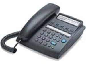 Alcatel Téléphones avec fil TEMPORIS 45 Pro Anthracite Ecran alphanumérique, prise casque