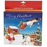 Lincoln Advent Kalender - Design 2 - Ideales Geschenk Für Dein Pferd mit 24 Fenster - Enthält jeweils 3 Lincoln Pferde Bix - Saisonal Design