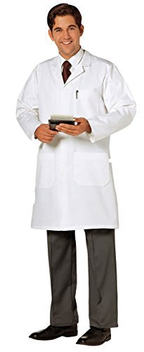 Lab Work Doctors Medical White Coat L