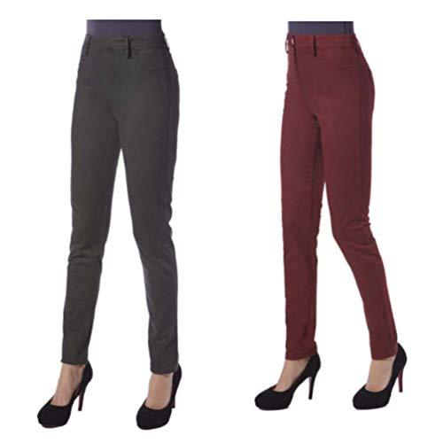 JANIRA leggings tipo jeans Pants Soft Jeans - NEGRO