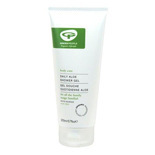Green People - Body Care - Daily Aloe Shower Gel - Aloe Vera - 200ml (Case of 6)