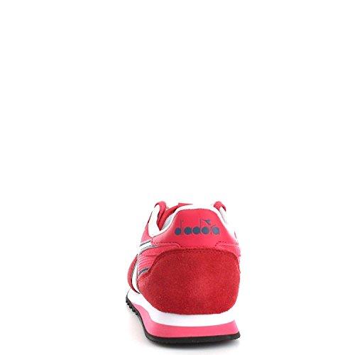 Diadora Malone W, Sneaker Bas du Cou Femme Rosso Flame