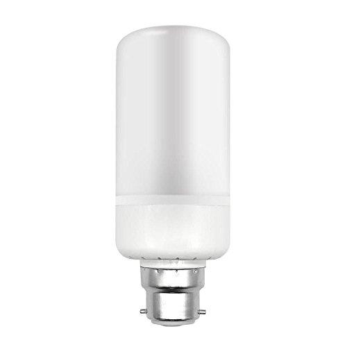 Hongfei Ampoules Flamme Led 5W 99Leds B22 Base Standard Lampes décoratives à l'atmosphère feu de scintillement