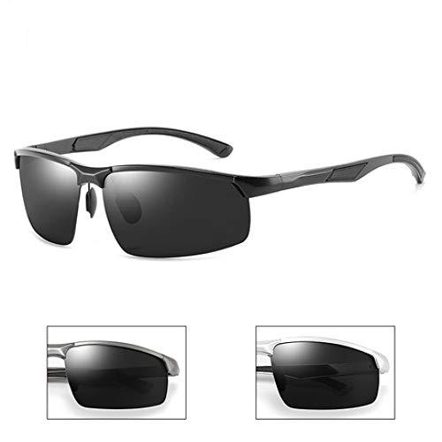 GFLD Sonnenbrille Herren Polarisierte Sonnenbrille Herren-Rahmenlose...