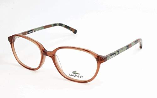 Lacoste Unisex-Kinder L3613 Brillengestelle, Braun, 48