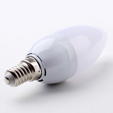 FDH E14 2 W 30 SMD 3528 100 LM C35 blanco cálido Lámparas de Vela 220-240 V CA