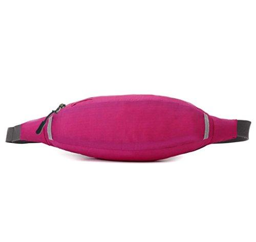 Super Licht Multifunktions-tragbare Reise Reiten Sport Wasserdichte Taschen rose red