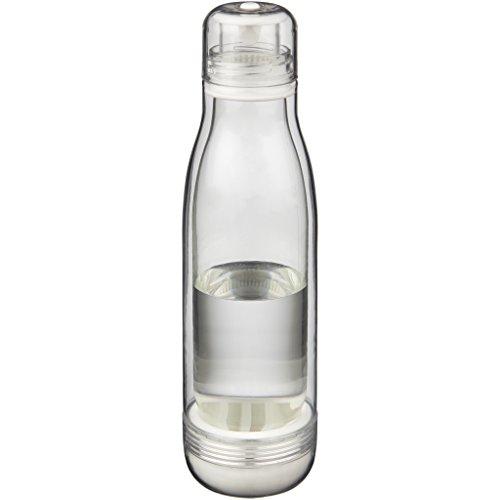 Avenue Sportflasche Spirit mit Glas-Einsatz (26,5 x 7,5 cm) (Transparent) - Avenue Korsett