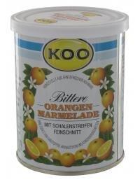 Koo Orange Marmelade 450g mit Schalenstreifen