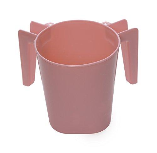 YBM Home aus Kunststoff, quadratisch Wash Cup BA154 rose Rose Cup