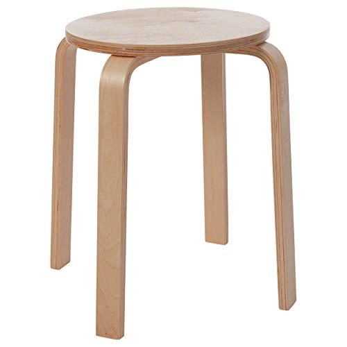 Gymnastikhocker aus Holz Sitzhocker Holzhocker Arbeitshocker stapelbar