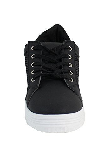 By Shoes Damen Sneakers Schwarz