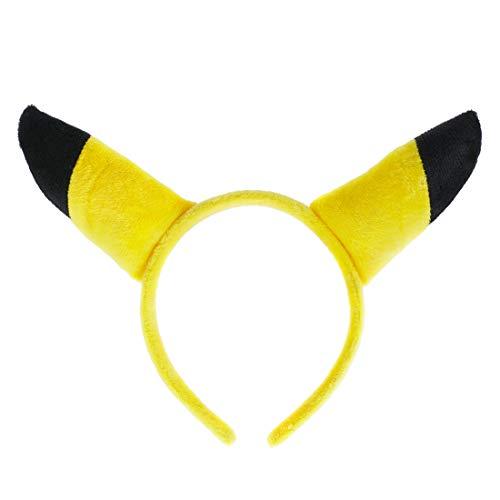 cosplaystudio Pokemon Plüsch Haarreifen mit Pikachu - Pokemon Pichu Kostüm