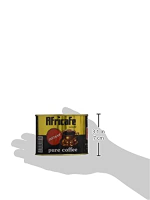 Africafe Pure Instant Coffee - 100g Tin Can from Afri Tea & Coffee Blenders (1963) Ltd.