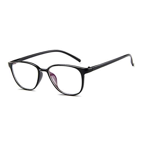 Noradtjcca Vintage Full Frame Glasrahmen Männer Frauen Brillen Big Frames Plain Mirror Clear Lens Brillengestell
