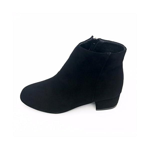 aaeca9a4135be9 Stiefel damen Kolylong® Frauen Elegant Kurz Martin Stiefel Herbst Winter  Warm Stiefeletten mit absatz ...