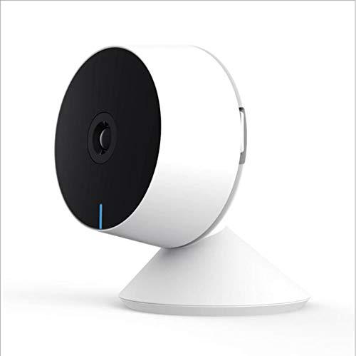 ZHY Indoor-Smart-Kamera, Fernbedienung 360-Grad-Drehung Nachtsicht Bewegungserkennung Weitwinkelobjektiv Zwei-Wege-Audio Million HD-Chip Geeignet für Baby/Haustier - Home-security-kameras Außerhalb Der