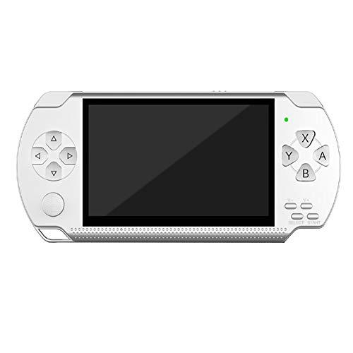 SU Consola de Juegos para niños PSP para Adultos, de 4,3 Pulgadas, 32 bits, 8...