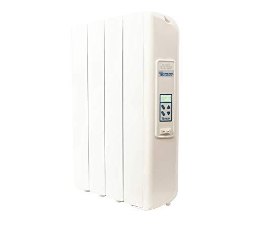 farho Radiador Eléctrico Eco D Ultra 660W Bajo Consumo • Emisor Térmico con Termostato Digital Programable 24/7 • WiFi Opcional · para estancias de hasta 10 m2