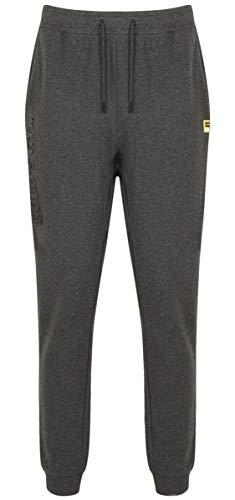 Jog Pant Charcoal (Golds Gym - Mens Embossed Detail Jog Pant - Charcoal Marl - X-Large)