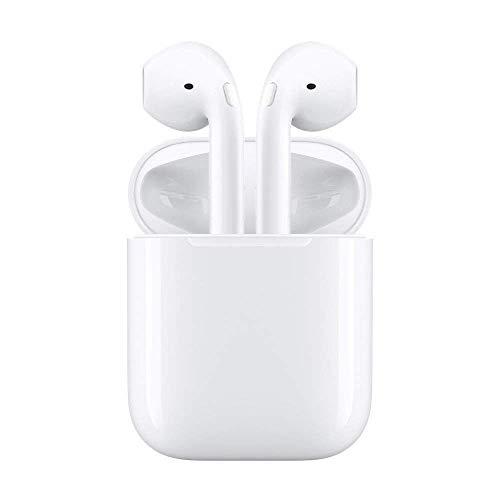 Écouteurs Bluetooth sans Fil, Casque Audio avec Station de Recharge (Blanc 2019 Neuf)