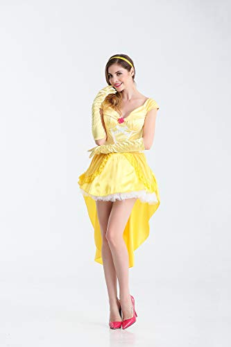 Ruanyi European Court Tale Princess Rollenspiel Anzug Spiel Uniform Halloween Königin Kostüm Cosplay Für Frauen (Size : XL)