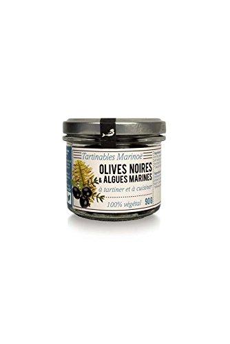 Marinoe Algen-Tapenade BIO mit schwarzen Oliven - 90g