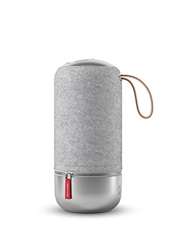 Libratone LH0020020EU1002 ZIPP MINI Copenhagen Edition Wireless Lautsprecher (360° Sound, Wlan, blautooth, MultiRoom, Airplay 2, Spotify Connect, 10 Std. Akku) salty grau