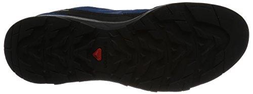 Salomon Mens X Alp Leather Gore-Tex Scarpe Da Trail Corsa - AW16 Black