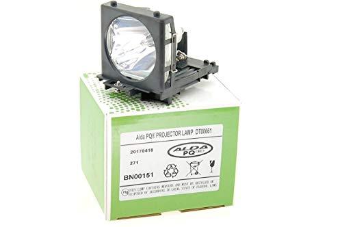 Alda PQ-Premium, Beamerlampe / Ersatzlampe kompatibel mit DT00665, DT00661 für HITACHI PJ-TX100W, PJ-TX100, HD-PJ52, PJ-TX300, PJ-TX200 Projektoren, Lampe mit Gehäuse