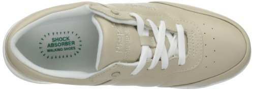 Propet Washable Walker étroit Cuir Baskets Bone-White