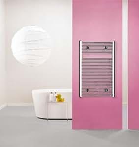 Purmo Radiateur de salle de bain Flores ch (Variante: Hauteur: 800mm Largeur: 600mm)