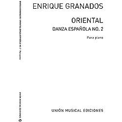 Granados Danza Espanola No.2 Oriental Piano - Partitions