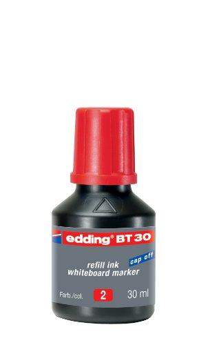 Preisvergleich Produktbild edding 4-BT30002 Nachfülltusche Board Marker, 30 ml, rot