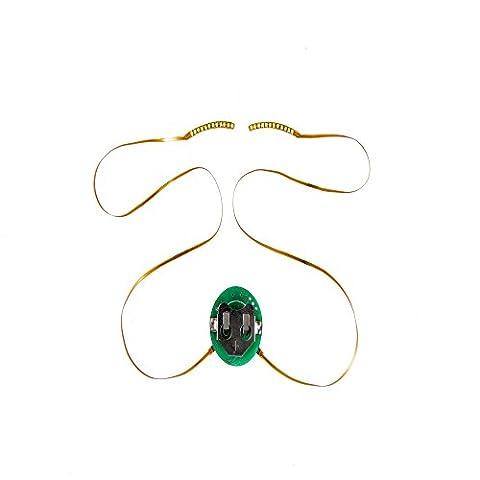Gaddrt Nouveau style cool LED cils imperméables à paupières faux