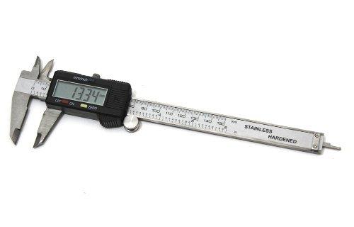 """Profi LCD Digitaler Messschieber Digitales Messgerät 150mm (6\"""") für milimeter genaue Messung Schieblehre"""