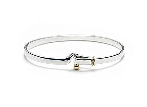 NYKKOLA New Fashion Beautiful Genuine 925 Sterling Silver elegant bracelet / bangle Unisex jewellery plating