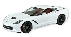 Maisto- Corvette 2014 Blanco 31677W, Color