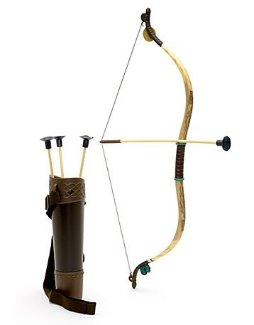 Disney Store Brave Merida Archery Bow and Arrow Costume Accessories Set by (Merida Kostüm Disney)