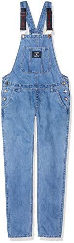 Smith Baumwoll-overalls (Teddy Smith Mädchen Sugar JR Latzhose, Blau (Vintage/Indigo 307), 12 Jahre)