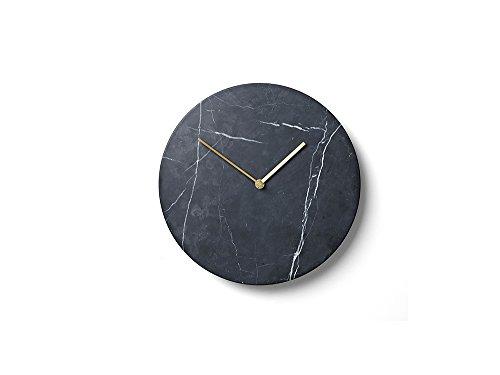Menu - Marble Wall Clock Wanduhr - Marmor schwarz - Norm.Architects - Design - Uhr
