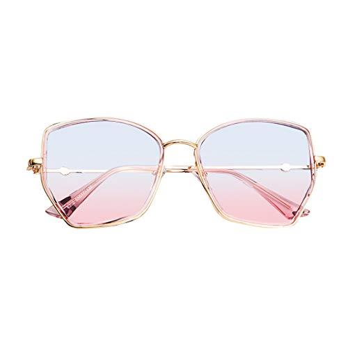 Rosennie Retro Polarisiert Flieger Sonnenbrille Mode Spiegel Leicht Sonnenbrillen für Unisex Polarized Sonnenbrillen Damen Herren Classic Unregelmäßige Sonnenbrillen Sunglasses Dünne Brille
