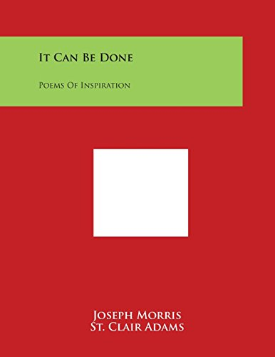 It Can Be Done: Poems of Inspiration