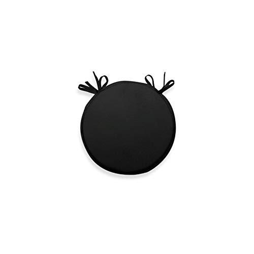 Soleil d'ocre Cojín para Silla bistrot 40 cm Alix Negro