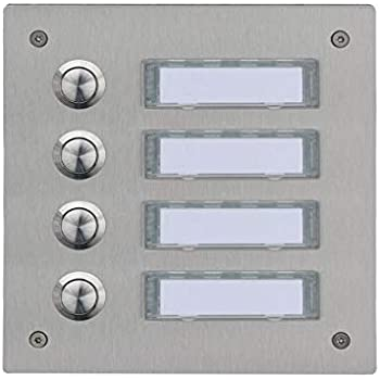 Türstation Klingelanlage Klingelplatte Türklingel LED