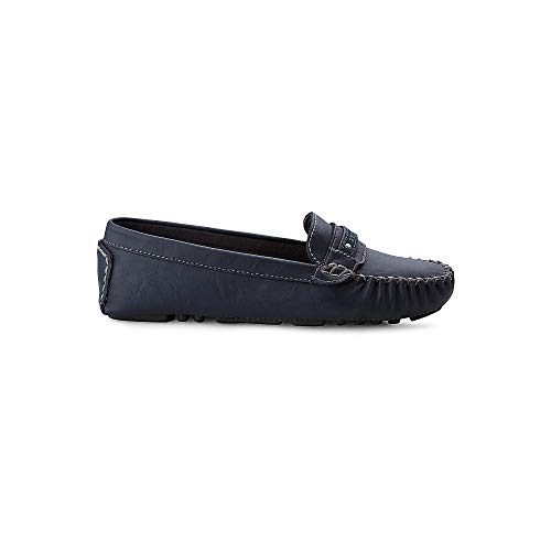 ESPRIT Damen Loafer Sheena blau Synthetik 37