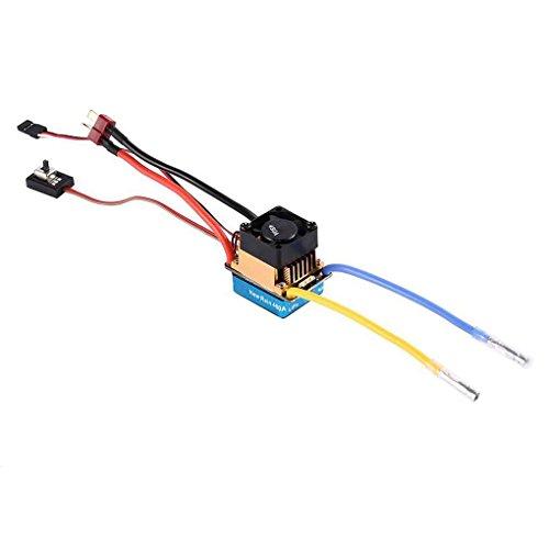 Morza Wasserdichte Auto-Tuning 3S 60A Brushed Motor Adjustment ESC Elektronische Drehzahlregler Dual Mode-Bürste -