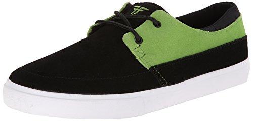 FALLEN ROACH BLACK/GREEN DEATHWISH DICKSON Signature Skate Shoes Sz 6