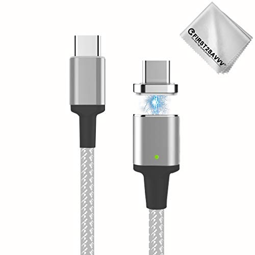 First2savvv MC4 Magnetisches USB-Ladekabel für MacBook